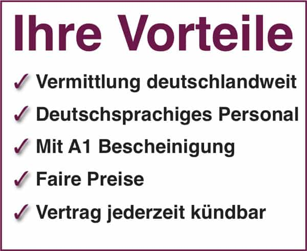24 Stunden Betreuung in München und deutschlandweit