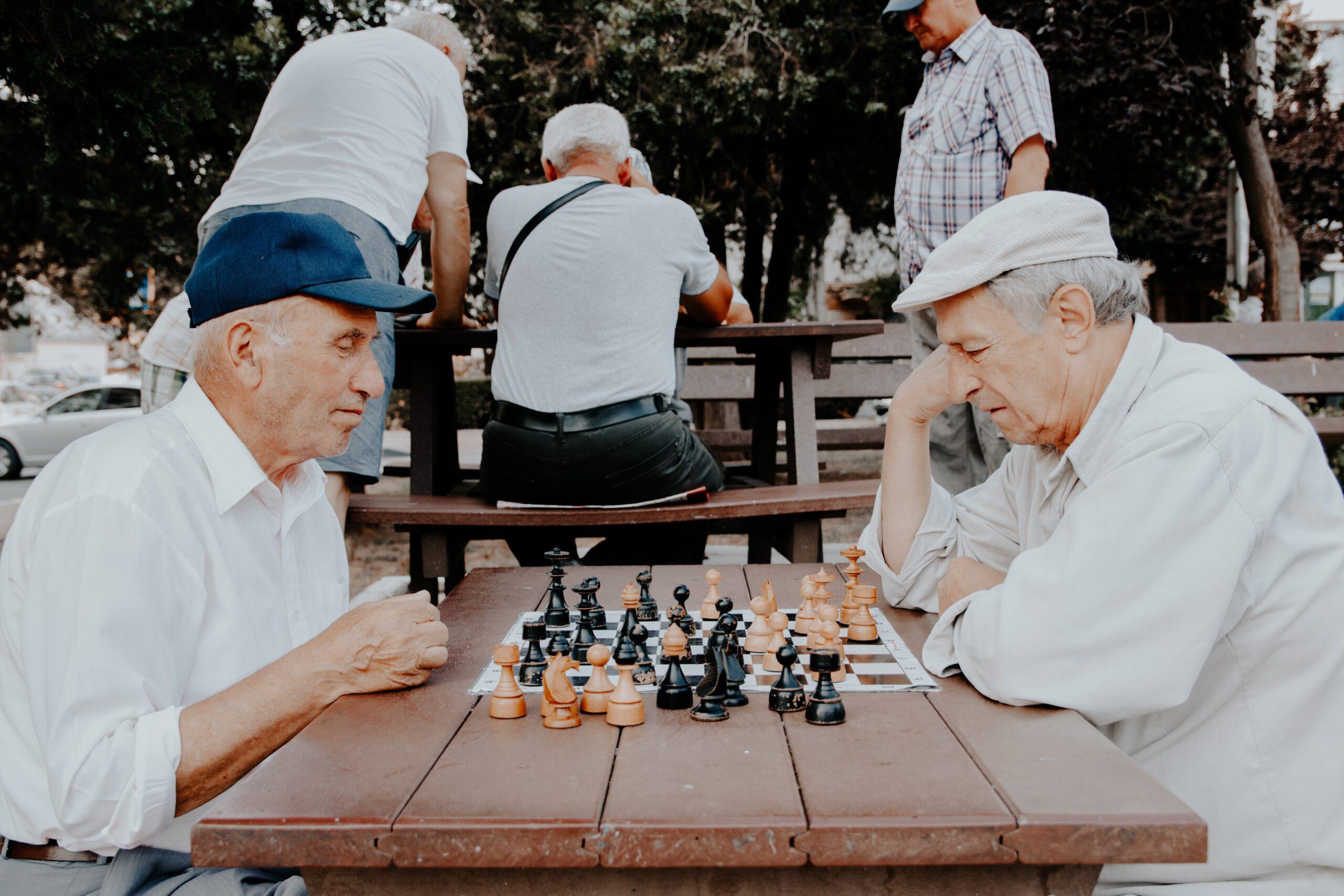 Seniorin in Pflegeheim